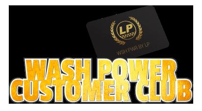 Wash Power Customer Club
