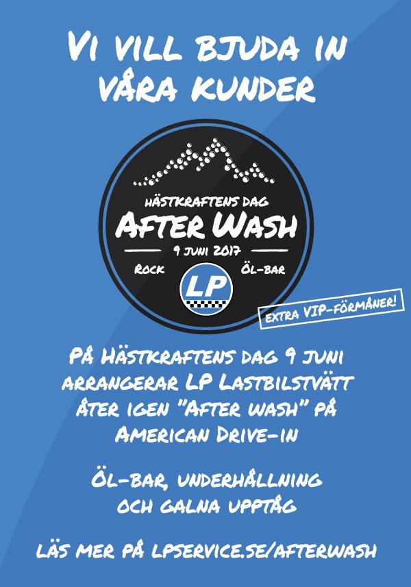 Afterwash-affisch